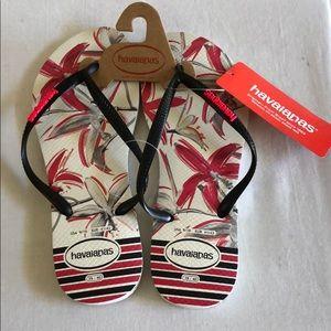 NWT HAVAIANAS Flip Flops Sandals